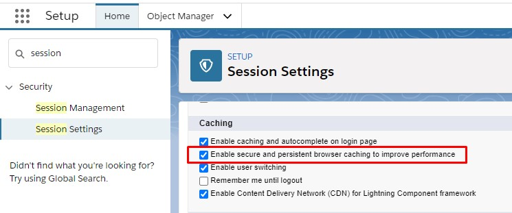How to disable the cache in Salesforce Lightning Component